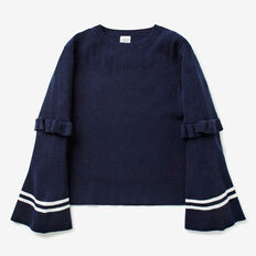 Bell Sleeve Sweater  MIDNIGHT  hi-res