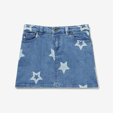 Star Denim Skirt  STARLIGHT WASH  hi-res