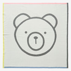 Knit Bear Blanket  MULTI  hi-res