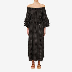 Off Shoulder Maxi  SPOT  hi-res