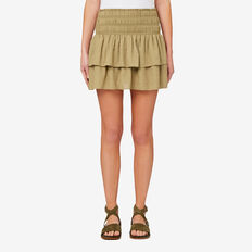 Olive Rahrah Skirt  FERN GREEN  hi-res