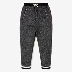 Metallic Trackies  BLACK  hi-res