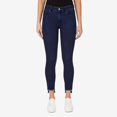Step Hem Jean  TEXTURED INK DENIM  hi-res