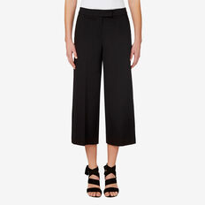 Crop Culotte  BLACK  hi-res