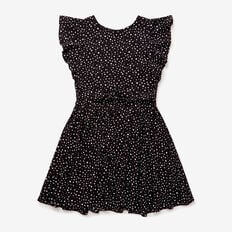 Starry Tea Dress  BLACK  hi-res
