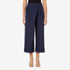 Wrap Front Culotte  INK  hi-res
