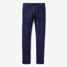 Basic Legging  NAVY OCELOT  hi-res