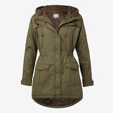 Cotton Anorak  SMOKY KHAKI  hi-res