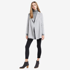 Pea Coat  MID GREY MARLE  hi-res
