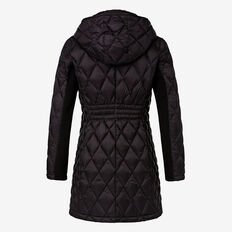 Diamond Down Puffer  BLACK  hi-res