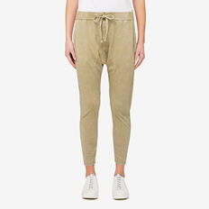 Ankle Harem Pant  FERN GREEN  hi-res