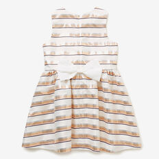 Stripe Bow Dress  MULTI  hi-res