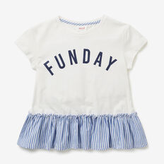 Funday Splice Tee  CANVAS  hi-res
