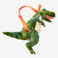 Terry T-Rex Backpack  GREEN  hi-res