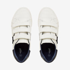 White Navy Runner  WHITE  hi-res