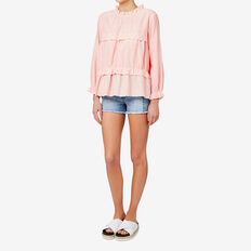 Scallop Trim Top  SOFT PINK  hi-res