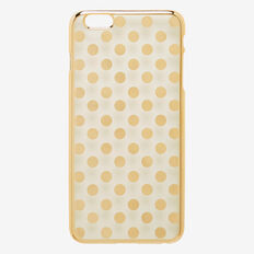 Spot Phone Case 6+  GOLD  hi-res