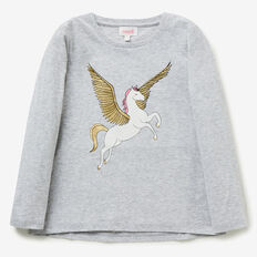 Pegasus Tee  CLOUD  hi-res