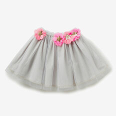 Flower Tutu  DOVE GREY  hi-res