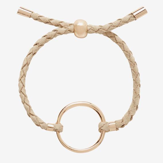 Circle Front Bracelet  GOLD/NATURAL  hi-res
