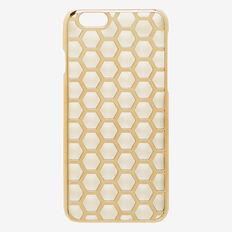 Honeycomb Phone Case 6  GOLD  hi-res
