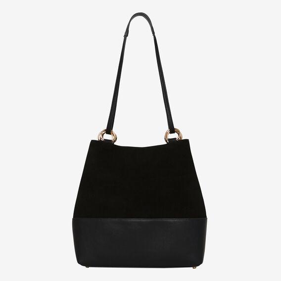 Caitlin Ring Detail Bag  BLACK  hi-res