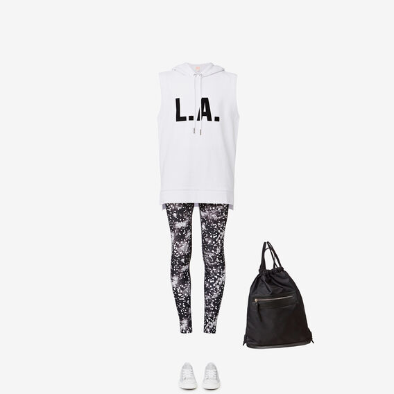 LA Sleeveless Hoodie  SNOW WHITE  hi-res