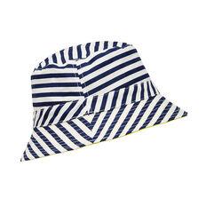 Printed Sun Hat  MIDNIGHT BLUE  hi-res
