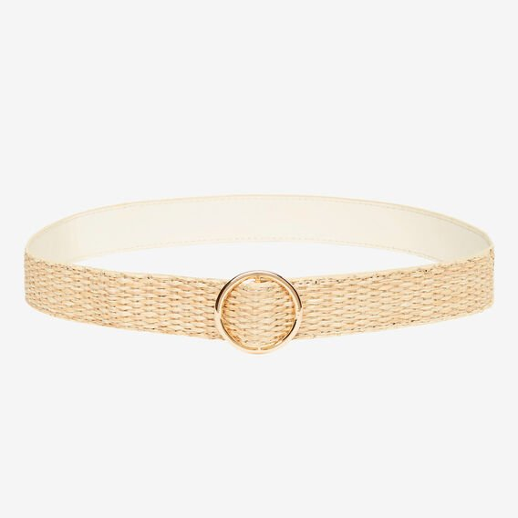 Sylvie Woven Belt  NATURAL  hi-res