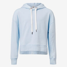Crop Windcheater  BABY BLUE  hi-res