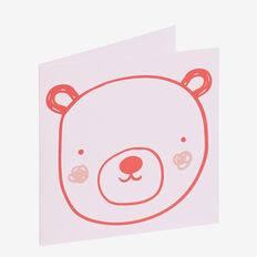 Pink Bear Card  MULTI  hi-res