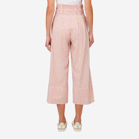 Micro Stripe Pant  DUSTY RED STRIPE  hi-res