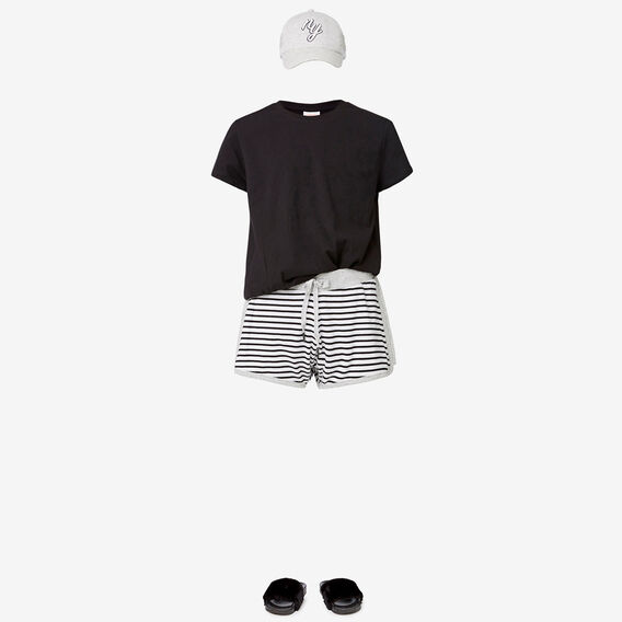 Stripe Short  BLACK STRIPE  hi-res
