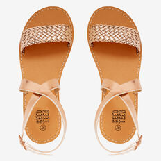 Weave Strap Sandal  ROSE GOLD  hi-res