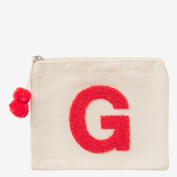 Initial Pouch  G  hi-res