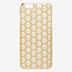 Honeycomb Phone Case 6  GOLD  hi-res