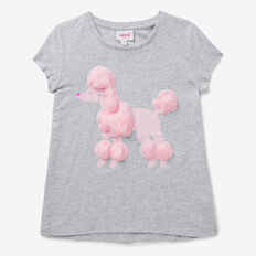 Fluffy Poodle Tee  CLOUD  hi-res