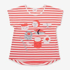 Sushi Tee  POPPY RED  hi-res