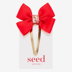 Bow Snap  POPPY RED  hi-res