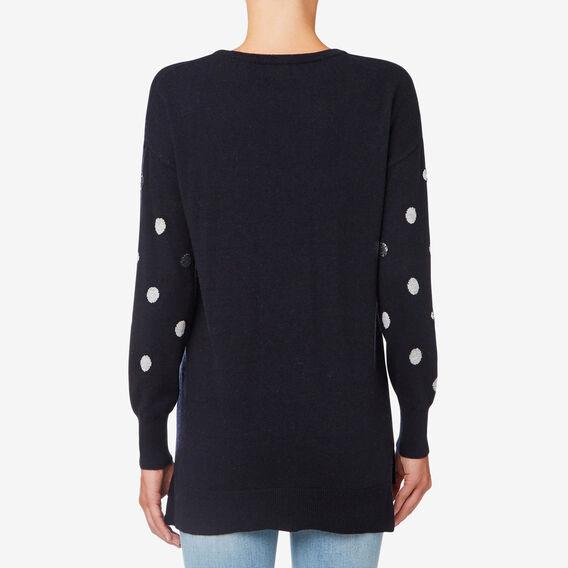 Spot Sweater  DEEP NAVY  hi-res