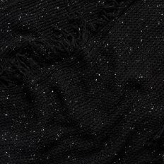 Fringe Snood  BLACK  hi-res