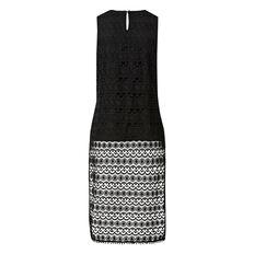 Lace Tunic Top  BLACK  hi-res