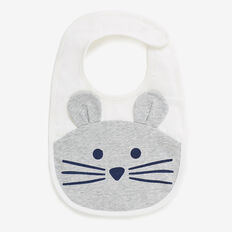 Mouse Bib  CANVAS  hi-res