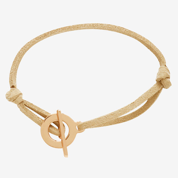 Toggle Clasp Bracelet  ROSE GOLD/NATURAL  hi-res