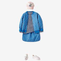 Mixed Yarn Sweater  MIXED BLUE  hi-res
