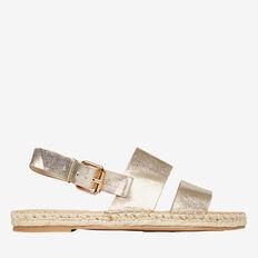 Gold Strap Sandal  GOLD  hi-res