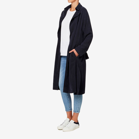 Soft Trench  DEEP NAVY  hi-res
