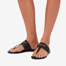 Juliette T-Bar Slide  BLACK  hi-res