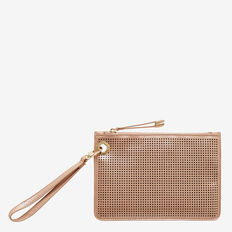 Sophie Eyelet Clutch  ROSE GOLD  hi-res