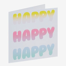 Happy Card  MULTI  hi-res